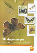 "Nederland - Brochure  ""Vlinderpostzegels. Leuk Om Te Verzamelen!""- Vlinder/butterfly/schmetterling - 12 Pagina's - Vlinders"