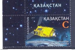 2017. Kazakhstan, Space, Cosmonautics Day, 1v, Mint/** - Kazakhstan