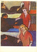 Peinture Signée Charlotte Salomon - Leben Oder Theater? Serie II - Collection Joods Historisch Museum, Amsterdam - Pittura & Quadri