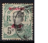MONGTZEU      N°  YVERT     37  ( 5 )       OBLITERE       ( O   2/03  ) - Mong-tzeu (1906-1922)