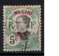 MONGTZEU      N°  YVERT     37  ( 6 )       OBLITERE       ( O   2/03  ) - Mong-tzeu (1906-1922)