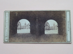 TRêVES - ALLEMAGNE - GERMANY ( 2715 ) A. BRAUN A Dornach ( Haut-Rhin ) Stereo Photo ( Voir Photo Pour Detail ) !! - Stereoscopic