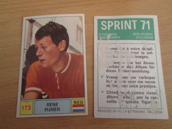 Image (de Récupération) En TBE : PANINI SPRINT 71 CYCLISME N° 173 - Panini