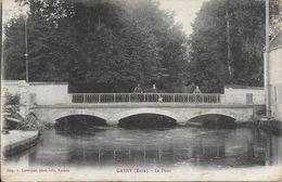 27)  GASNY  - Le Pont - France