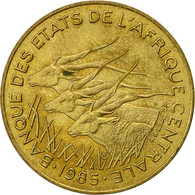 États De L'Afrique Centrale, 10 Francs, 1985, Paris, TTB+, Aluminum-Bronze - Cameroon