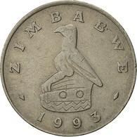 Zimbabwe, Dollar, 1993, TTB, Copper-nickel, KM:6 - Zimbabwe
