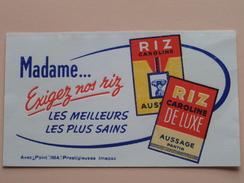 RIZ Caroline De Luxe Aussage Pantin () 18 X 10,5 Cm. - Buvard IMA ( Voir Photo ) ! - Food