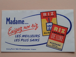 RIZ Caroline De Luxe Aussage Pantin () 18 X 10,5 Cm. - Buvard IMA ( Voir Photo ) ! - Alimentaire