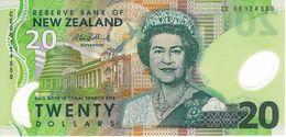 NEW ZEALAND 20 DOLLARS ND (2006) P-187 UNC  [NZ133e] - New Zealand