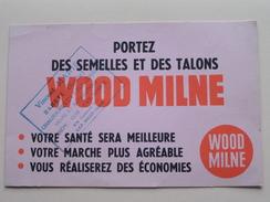 Portez Des Semelles Et Des Talons WOOD MILNE ( Stamp HAMBYE Vincent Marie ) 20,5 X 13,5 Cm. - Buvard ( Voir Photo ) - Buvards, Protège-cahiers Illustrés