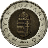 Hongrie, 100 Forint, 2004, Budapest, TTB, Bi-Metallic, KM:721 - Hungary