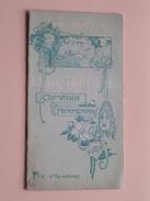 Programme L'ILLUSTRATION 62e Année 1905 Comédie Française (Mme Pierson/Leloir/Piérat/Coquelin/Féraudy) ( Voir Photo ) - Programmes