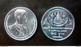 Thailand Coin 20 Baht 2014 120th Birthday King Rama VII (#61) UNC - Thailand