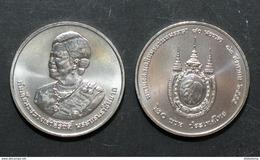 Thailand Coin 20 Baht 2012 80th Queen Sirikit (#55) UNC - Thailand