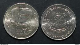 Thailand Coin 20 Baht 2002 100th Ann.Police Academy Y397 UNC - Thailand