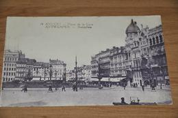 406- Antwerpen, Anvers, Place De La Gare - Antwerpen