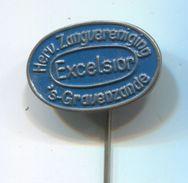 Excelsior / Hervormde Zangvereniging - Gravenzande Netherlands, Vintage Pin,badge, Abzeichen - Music