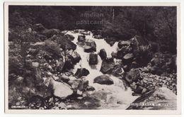 AUSTRALIA, Eurobin Falls - Mt Buffalo - Victoria, C1930s Vintage RPPC Real Photo Postcard - Australia