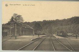 Ham-sur-Heure La Gare Et Le Tunnel  (6866) - Ham-sur-Heure-Nalinnes
