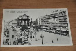 408- Brussel, Bruxelles, Place De Brouckere / Trams - Places, Squares
