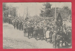 Rossignol - Cérémonie Du 19 Juillet 1920 - Défilé De Sociétés Patriotiques, Fanfare   ( Voir Verso ) - Tintigny