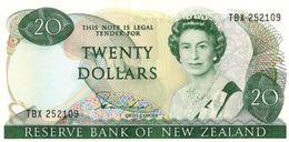 * NEW ZEALAND 20 DOLLARS ND (1981) P-173a UNC [NZ120a] - Nieuw-Zeeland