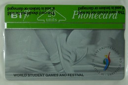 UK - Great Britain - BT - L&G - BTC035 - Sheffield Student Games - 20 Units - Mint Blister - United Kingdom