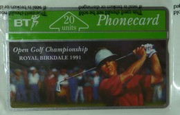 UK - Great Britain - BT - L&G - BTC041 - Birkdale Golf Open - 20 Units - Mint Blister - United Kingdom