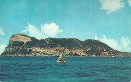Gibilterra, Gibraltar,  View From The Sea, Vue De La Mer, Ansicht, Panorama Dal Mare - Gibilterra