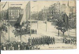 Saint-Nazaire- Revue Du 14 Juillet -Défilé De L'Artillerie - Saint Nazaire