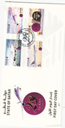 Qatar New Issue 2017, 20 Years Of Qtara Airway's Set 4 Stamps Cpl.set On Official FDC - Limited - Skrill Payment ONLY - Qatar