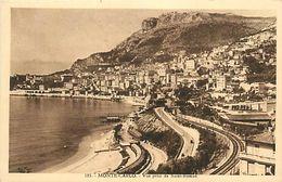 Réf : A-18 Pie Tre-3098 : MONACO. MONTE CARLO. VUE PRISE DE SAINT-ROMAN. - Monte-Carlo