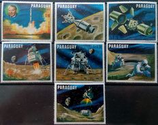 Paraguay, 1970, Mi. 2005-11, Space, MNH - Space