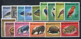 GUYANA-1968-ANIMALS-15 VAL.MNH-LUXE - Ecuador