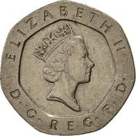 Grande-Bretagne, Elizabeth II, 20 Pence, 1995, TTB, Copper-nickel, KM:939 - 1971-… : Monnaies Décimales