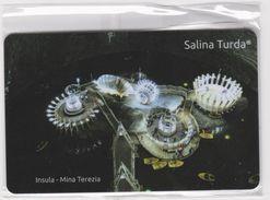 MAGNET -ROMANIA - City TURDA-Salt Mine( M. Terezia) Arranged For Tourists- Island On The Lake-Salzbergwerk -Mine De Sel - Tourism