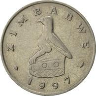 Zimbabwe, 20 Cents, 1997, SUP, Copper-nickel, KM:4 - Zimbabwe