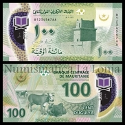Mauritania 100 Ouguiya 2017 (2018) Pick New Polymer SC UNC - Mauritania