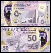 Mauritania 50 Ouguiya 2017 (2018) Pick New Polymer SC UNC - Mauritania