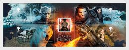 Groot-Brittannië / Great Britain - Postfris / MNH - Sheet Game Of Thrones 2018 - Ongebruikt