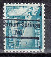 USA Precancel Vorausentwertung Preo, Locals North Carolina, Barium Springs 843 - Vereinigte Staaten