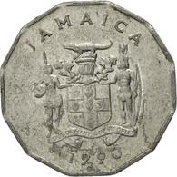 Jamaica, Elizabeth II, Cent, 1990, British Royal Mint, TTB, Aluminium, KM:64 - Jamaica