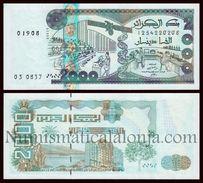 Argelia Algeria 2000 Dinars 2011 Pick 144 SC UNC - Argelia
