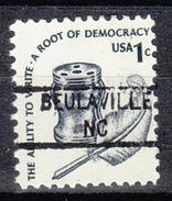 USA Precancel Vorausentwertung Preo, Locals North Carolina, Beulaville 841 - Etats-Unis
