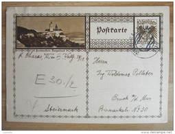GANZSACHE Forchtenstein 1930 //  D*10318 - Entiers Postaux