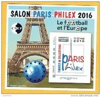 FRANCE BLOC CNEP 2016, FOOTBALL, TOUR EIFFEL, Salon Philex 2016, 1 Bloc, Neuf / Mint - Neufs
