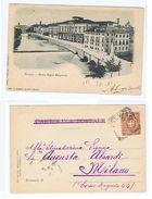 TREVISO - RIVIERA REGINA MARGHERITA - EDIZ. ZOPPELLI - 1899 (1722) - Treviso