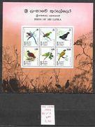 Oiseau - Sri Lanka BF N°9 1979 ** - Perroquets & Tropicaux