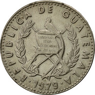 Guatemala, 25 Centavos, 1979, TTB+, Copper-nickel, KM:278.1 - Guatemala