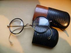 Lunettes Années 190...dans étui D'origine.verres De Lecture - Autres Collections